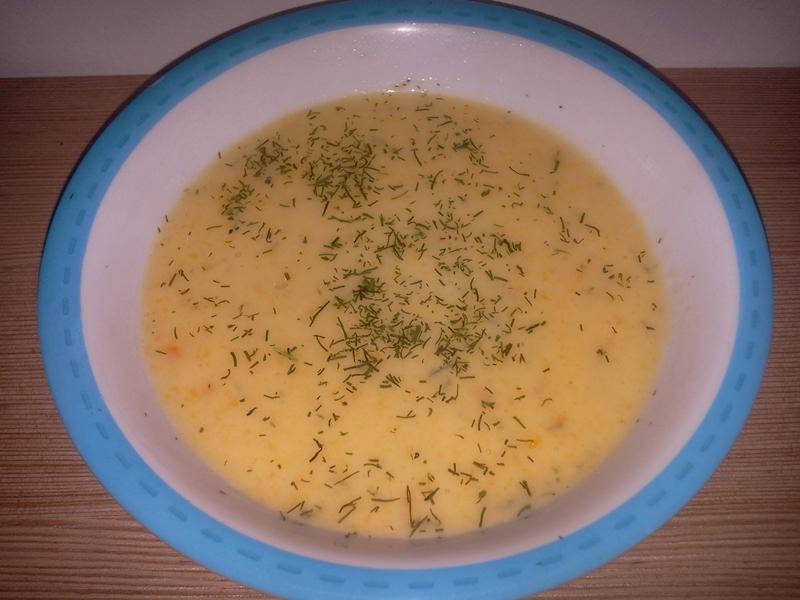 Supă cremă de conopidă