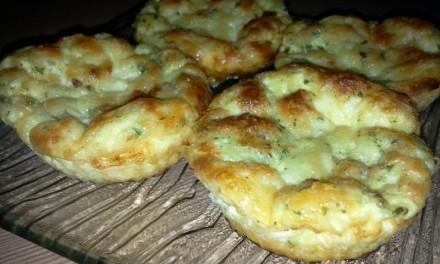 Omletă cu brânză la cuptor