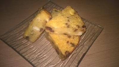 Budincă cu cous-cous, brânză de vaci și curmale