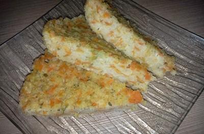Budincă cu mei și morcov