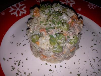 Salată de boeuf adaptată