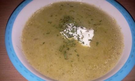 Supă cremă cu broccoli