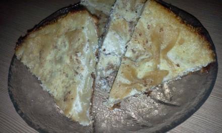 Farfalle cu brânză de vaci și stafide