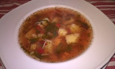 Supă de legume cu lobodă