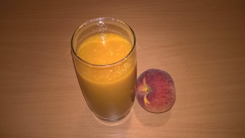 Nectar de piersici (fără zahăr)