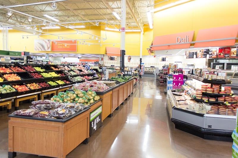 Cu David la supermarket