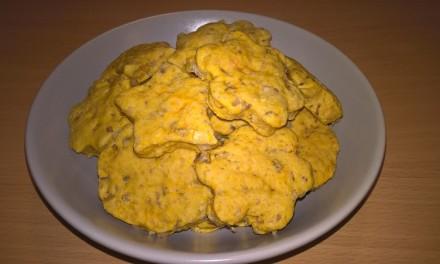 Biscuiți cu dovleac plăcintar și nucă