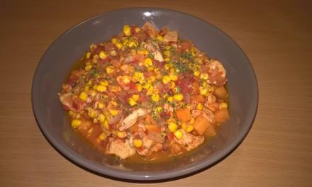 Mâncărică cu piept de pui și porumb