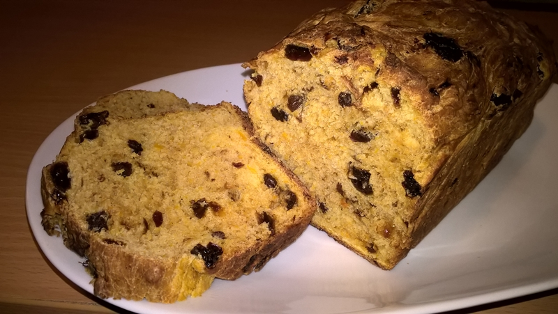 Pâine dulce cu dovleac plăcintar