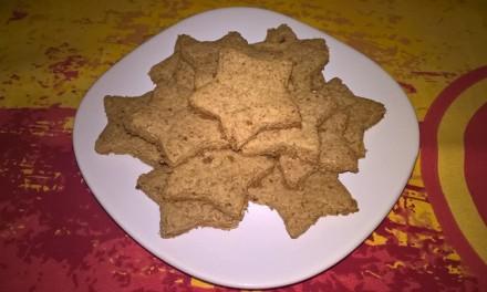 Biscuiți aromați cu făină integrală (de post)