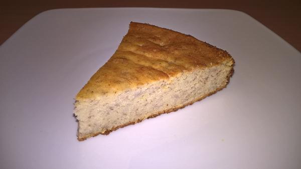 Prăjitură cu banane și ricotta