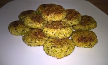 Chifteluțe cu broccoli și brânză Cheddar