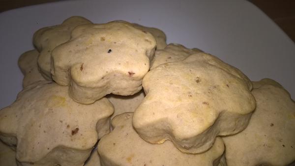 Biscuiți cu piure de castane și banană