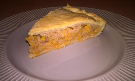 Plăcintă cu gutui și dovleac (fără ou)