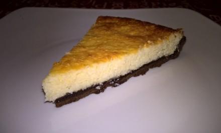 Tartă cu brânză de vaci și fulgi de cocos