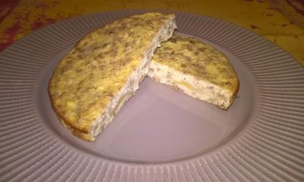 Budincă dulce cu brânză și smântână