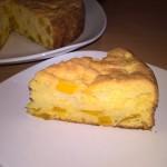 Prăjitură aromată cu mango (fără lactate)