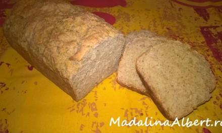 Pâine cu fulgi de ovăz
