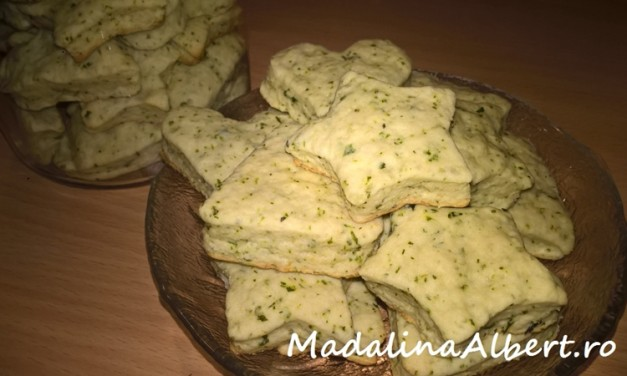 Biscuiți cu mentă