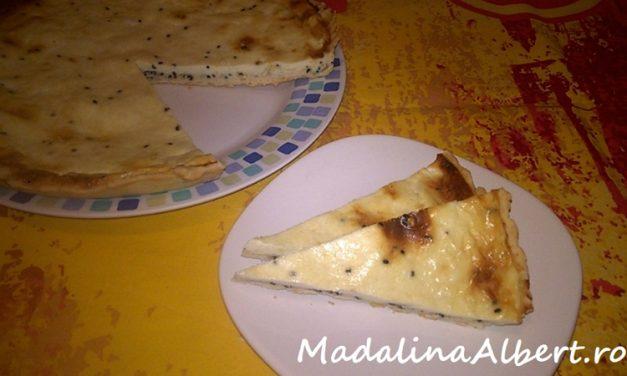 Tartă aperitiv cu brânză și chimen negru