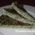 Tartă cu leurdă și brânză