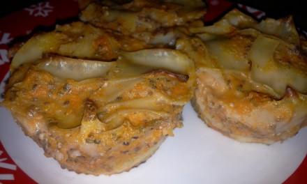 Paste cu dovleac plăcintar, brânză de vaci și semințe de chia