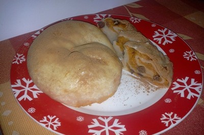 Plăcintă cu dovleac și stafide