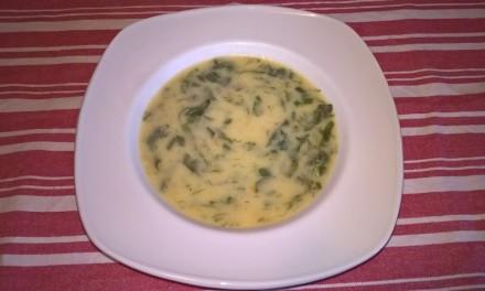 Supă cu leurdă și praz