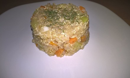 Quinoa cu morcov și dovlecel