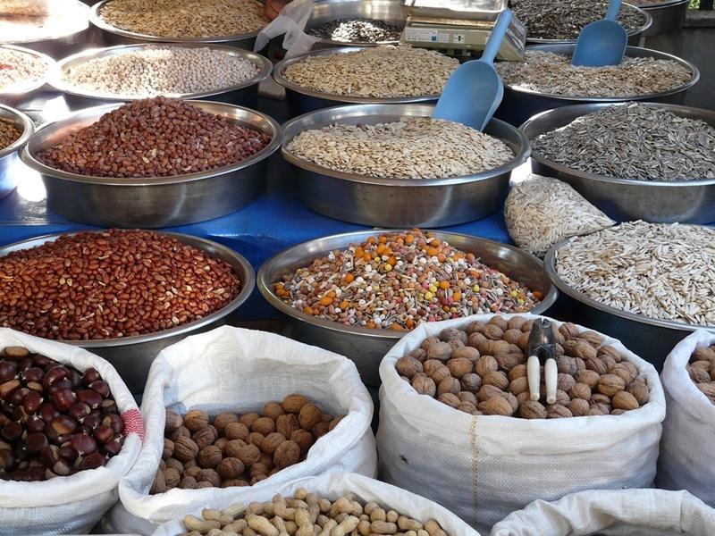 Nucile și semințele în alimentație