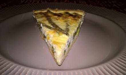 Tartă cu fasole verde și brânză Gouda