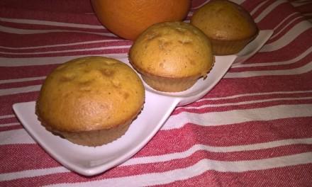 Brioșe cu portocale