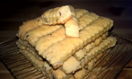 Saleuri cu brânză de vaci și chimen