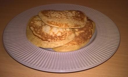 Pancakes aromate cu sana