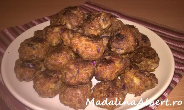 Chifteluțe de vită la cuptor