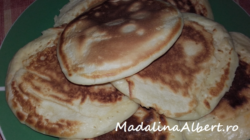 Pancakes cu lapte bătut