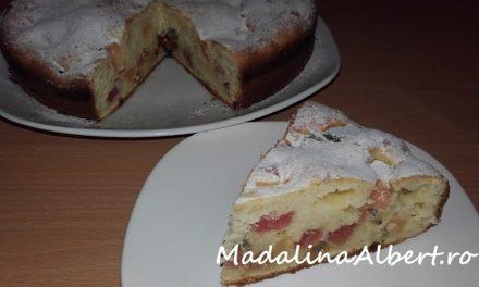 Prăjitură cu sana și rahat