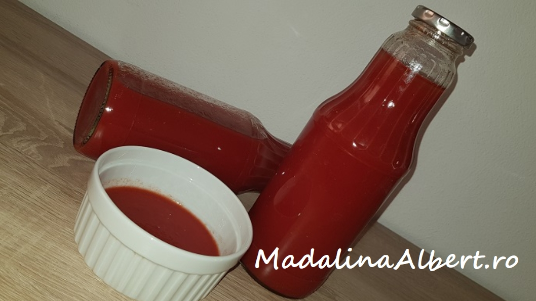Suc de roșii pentru iarnă